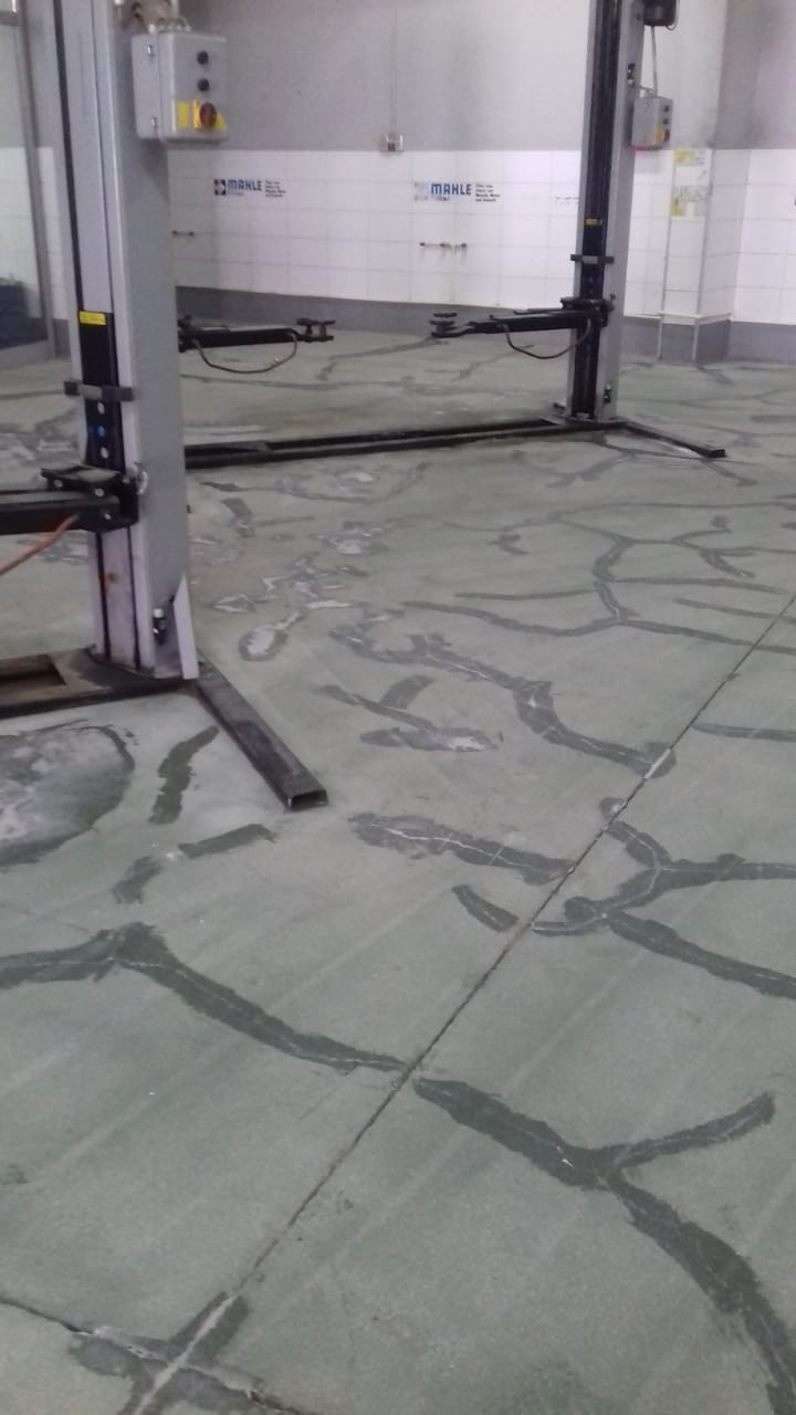 Bodenbeschichtung – Marmorimitation Glanz & Seidenmatt   Epoxid ...